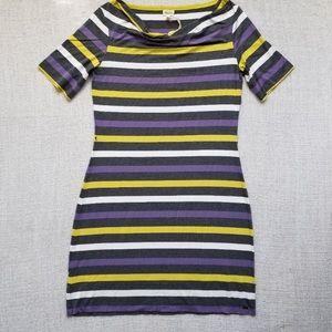 NWOT Hatley Striped stretch dress
